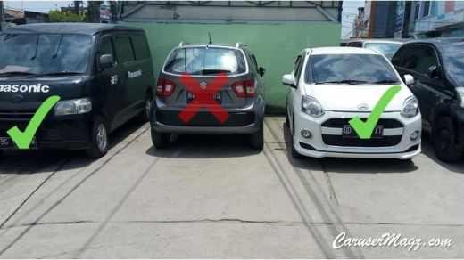 Cara Parkir Mobil yang Benar. Tips parkir mobil