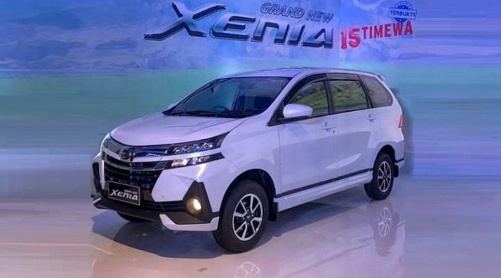 Daihatsu Xenia Facelift 2019