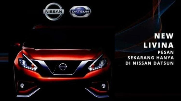 Bocoran Info Kembaran Xpander dari Nissan - Livina Generasi kedua