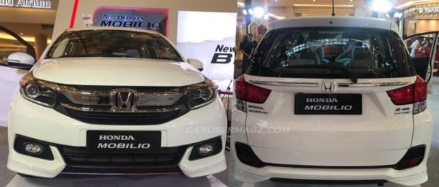 Honda Mobilio 2019 Facelift - Tampak Depan Belakang