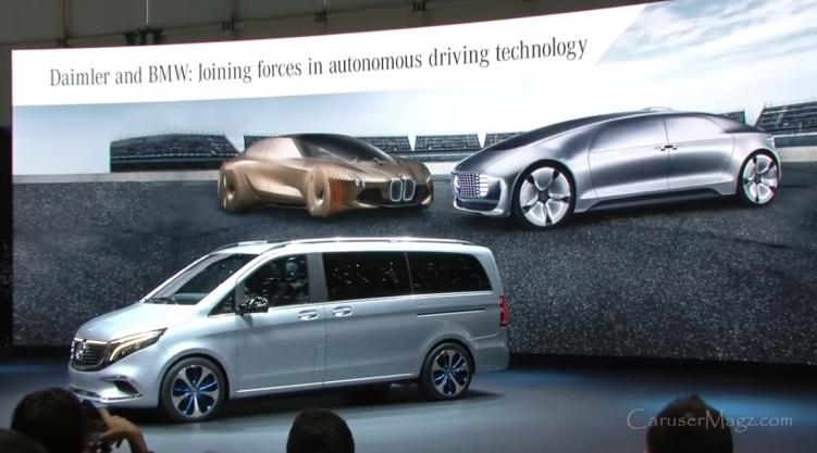 Kerjasama Mercedes Benz dan BMW - Bangun Mobil Otonom dan Service
