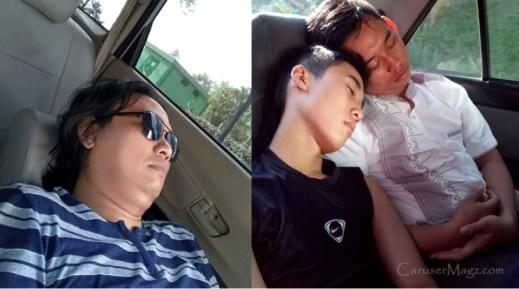 Tidur di Mobil dengan Mesin dan AC Menyala, amankah