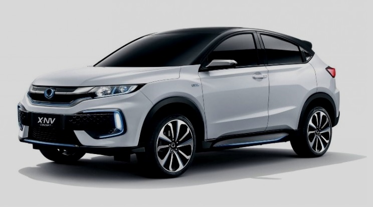 Honda X-NV Concept - Tampak Depan