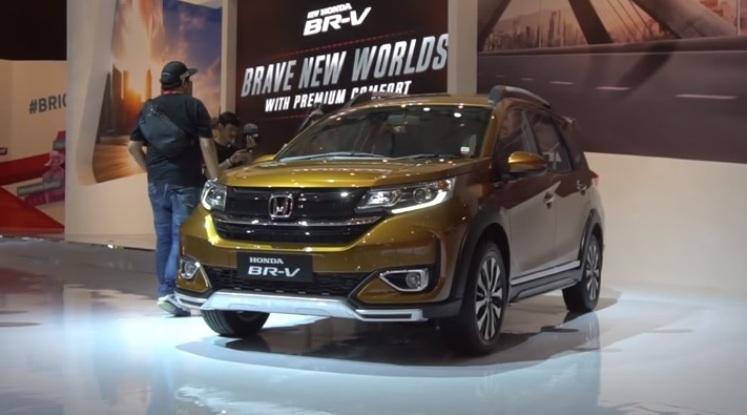 Perubahan Honda BR-V 2019 Facelift