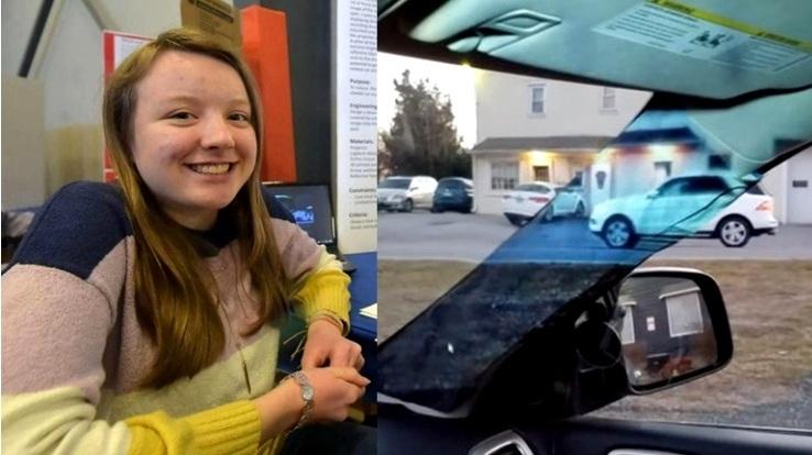 Alaina Gassler Bocah 14 Tahun Penemu Pillar Mobil Tembus Pandang