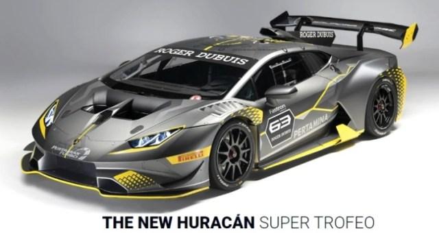 Pertamina Fastron Technical Partner Lamborghini Squadra Corse - The Huracan Super Trofeo