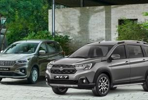 Suzuki XL7 vs Ertiga - Perbedaan Eksterior