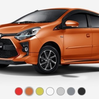 Pilihan Warna Toyota Agya 2020 Facelift