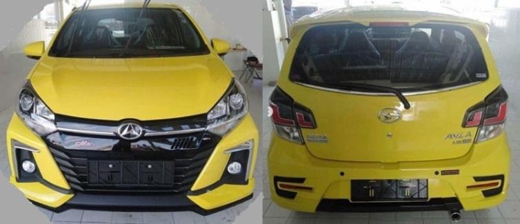 Spyshot Sigra 2020 Facelift - Tampak Depan dan Belakang
