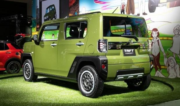 Daihatsu Taft Concept - Tampak Belakang