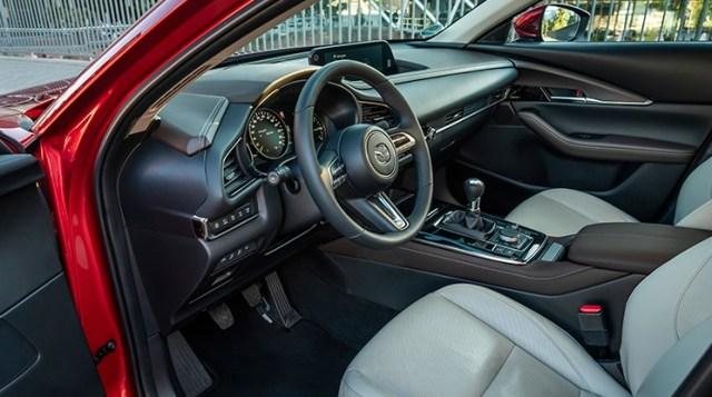 Interior Mazda CX-30 yang Mewah
