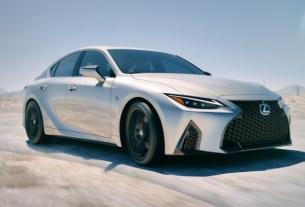 Lexus New IS Debut Global Juni 2020