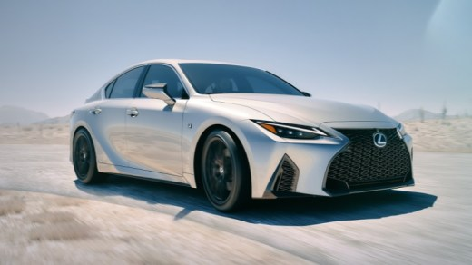Lexus New IS Debut Global Juni 2020
