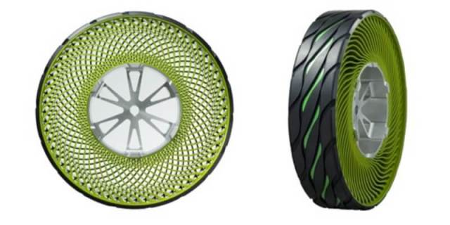 Ban Tanpa Angin Bridgestone - Airless Tire