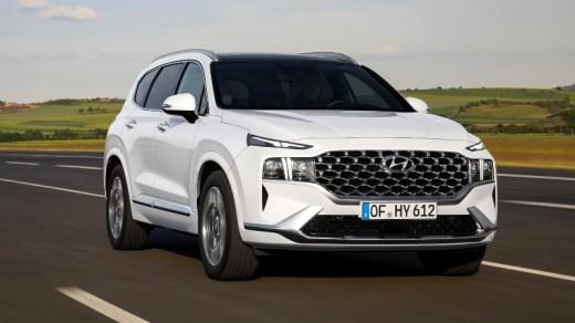 Hyundai Santa Fe 2021 - On Road View