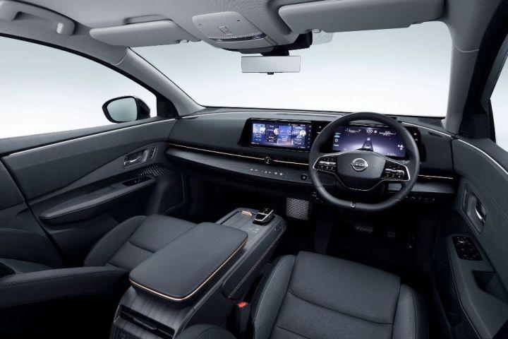 Interior Dashboard Nissan Ariya EV