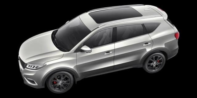DFSK Glory i-Auto 2020 - Tampak Samping Atas