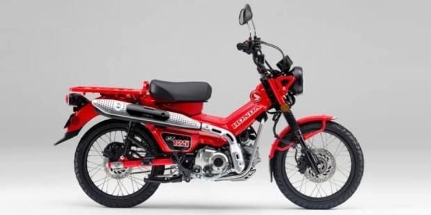 Honda CT125 - Motor Bebek Trekking Buat Kebuners Crazy Rich
