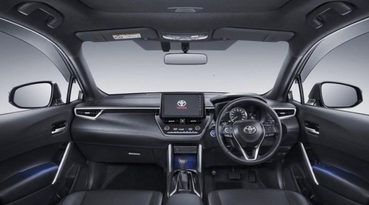 Interior Toyota Corolla Cross - Dashboard