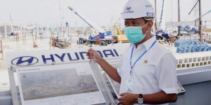 Pembangunan Pabrik Hyundai di Cikarang