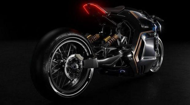 Rekaan Konsep Motor BMW Rear Look - Sabino Leerentveld