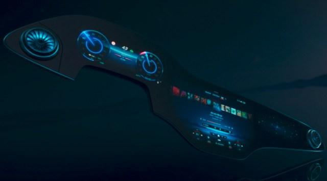 Mercedes Benz Hyperscreen AI-Powered MBUX