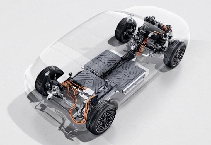 Mercedes EQA - Powertrain EV