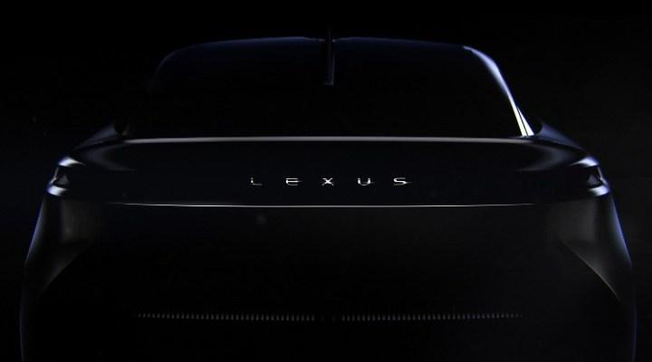 Konsep Lexus EV - Teaser Belakang Mobil Listrik Lexus