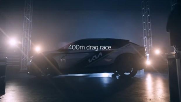 Balapan 400 meter EV6 GT