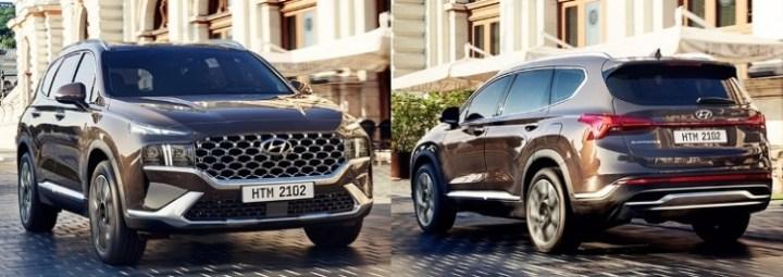 Hyundai Santa Fe 2021 Indonesia - Tampak Depan dan Belakang