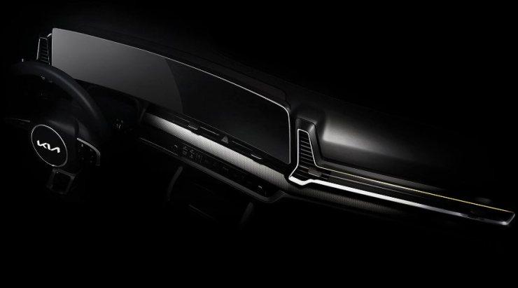Interior Sportage 2022 - Dashboard