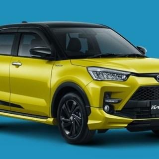 Toyota Raize - Kuning Two-Tone