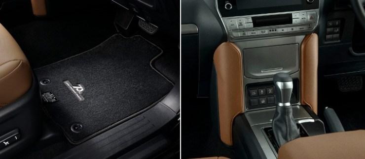 Perbedaan Interior Toyota LC Prado 70th Anniversary