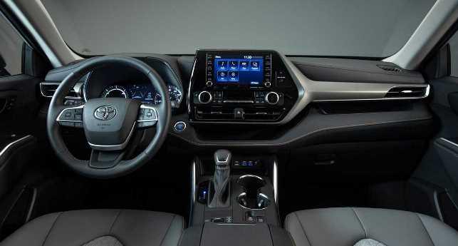 Dashboard Toyota Highlander 2020 - Diharapkan hadir di Innova