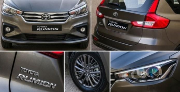 Ertiga Berlencana Toyota hadir di Afrika Selatan