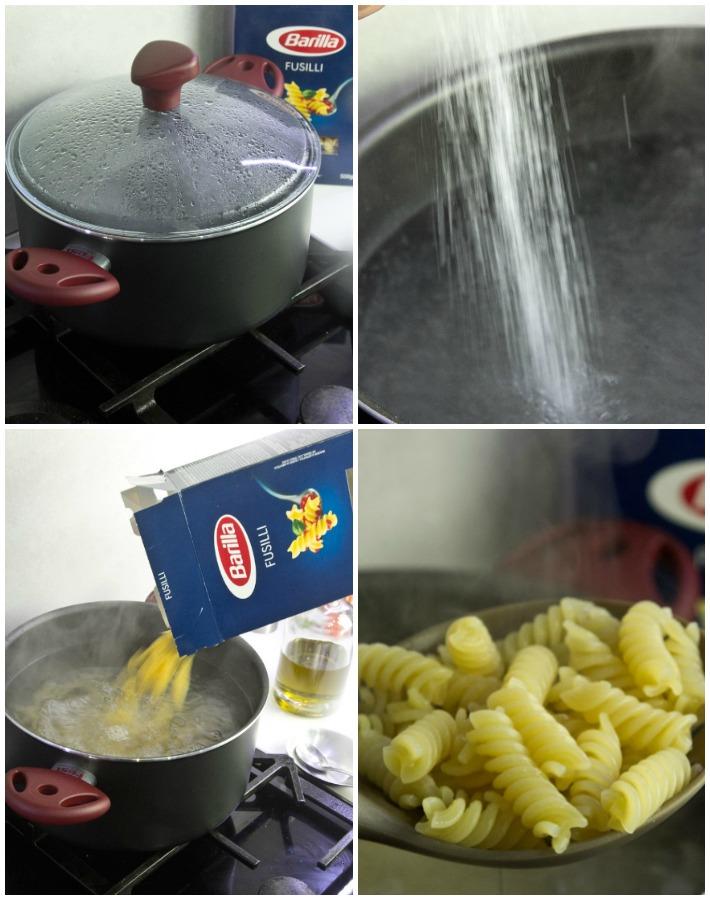 Βίδες σάλτσα λεμόνι δυόσμο
