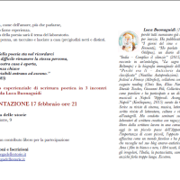 POETARIO - laboratorio di poesia, a cura di Luca Buonaguidi | La Bottega delle Storie, Pistoia
