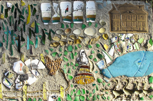 Mosaic steppingstone