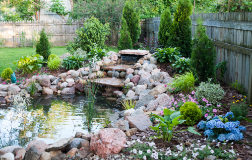 Finished-pond-side-view