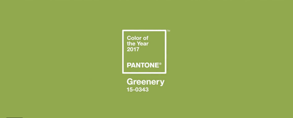 Color of the Year Greenery