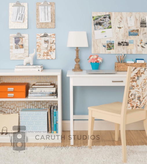 Home office wallpaper projects overall