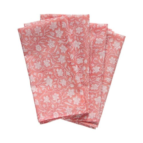 coral napkins