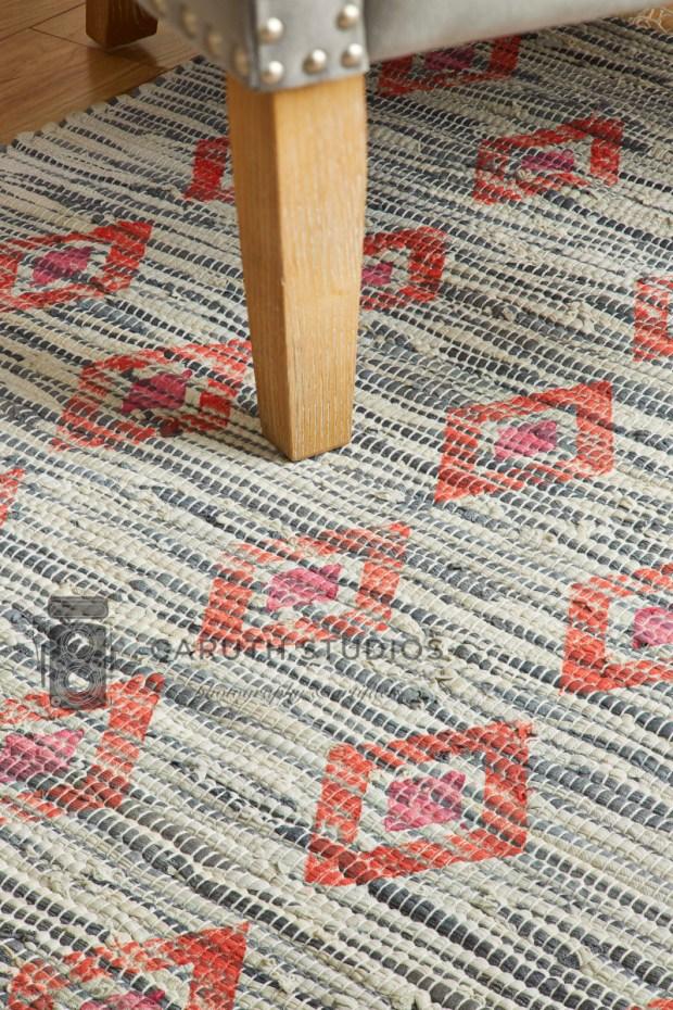 Stamped rug