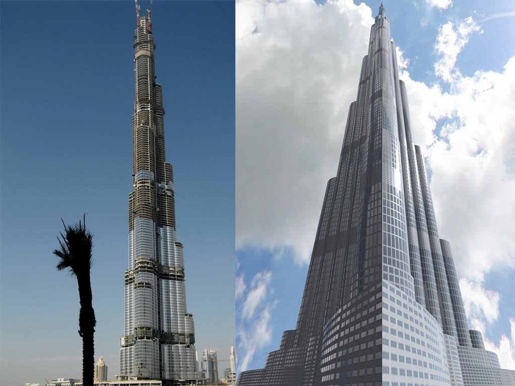 >The Burj Dubai Skyscraper Latest Photos