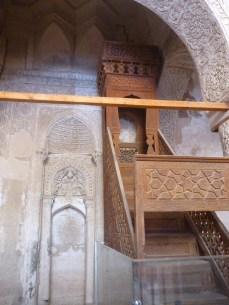 mezquita jameh carvansaray nain iran