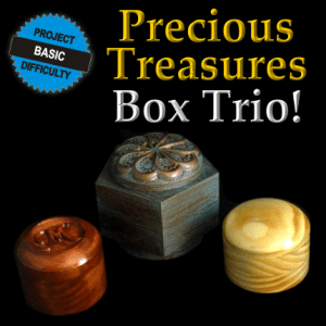 Precious Treasures Box Trio