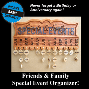 Friends and Family Event Organizer