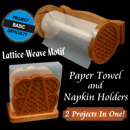 Weaved Paper Towel and Napkin Holders