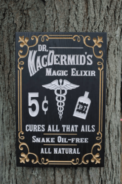 Wooden Doctor Sign