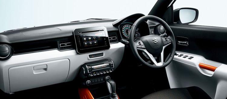スズキ新型イグニスの内装デザインレビュー!Apple CarPlay対応は嬉しいじゃないか!